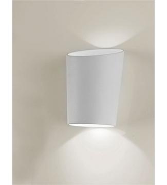 Εικόνα της Φωτιστικό Απλίκα LED Λευκό/Αλουμίνιο 2x3W 4200K 390Lm IP65 Lambario