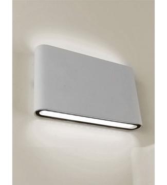 Εικόνα της Φωτιστικό Απλίκα LED Γκρί/Αλουμίνιο 6W 4200K 390Lm IP65 Lambario