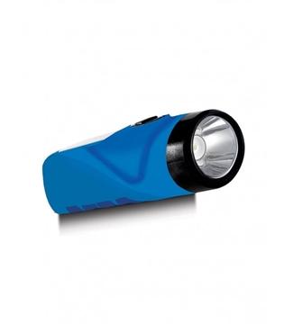 Εικόνα της Φακός LED Επαναφορτιζόμενος Μπλέ 1W 8000K 8Hours  Lambario