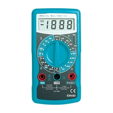 Εικόνα της Πολύμετρο Ψηφιακό EM490-ακουστική ένδειξη συνεχείας & προστασία υπερφόρτωσης