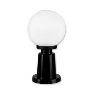 Εικόνα της Φωτιστικό Κολωνάκι Με Μπάλα Φ30cm Λευκό/Μαύρο LIDO 194-4830