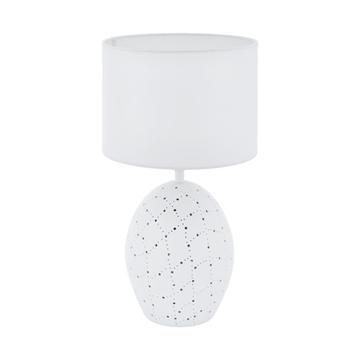 Εικόνα της Keramik-Επιτραπεζιο Φωτιστικο/2 E27 H-475 Ws Montalbano 98382 Eglo