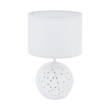 Εικόνα της Keramik-Επιτραπεζιο Φωτιστικο E27/E14 H-385 Ws Montalbano 98381 Eglo