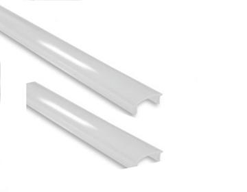 Εικόνα της Κάλυμμα Λευκό Ματ Προφίλ Αλουμινίου Ταινίας Led 17.4mm x 7mm Φosme