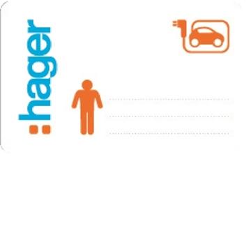 Εικόνα της Witty Κάρτες Διαχειριστή Rfid χωρίς logo (Σετ 3Τμχ) Hager