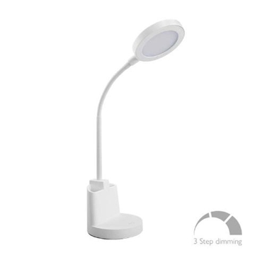 Εικόνα της Φωτιστικό Γραφείου LED 7W 4000K Λευκό Αφής 420Lm 3stepsDim FOS ME 17-00114-1