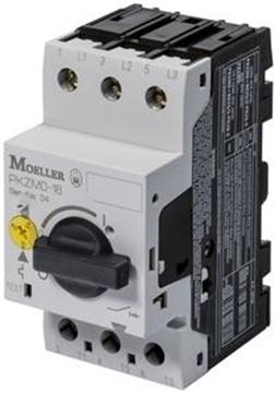 Εικόνα της Αυτόματοι θερμομαγνητικοί διακόπτες προστασίας κινητήρων 3P Ir=0.1-0.16A Moeller PKZMO-0,16