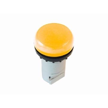 Εικόνα της Compact λυχνία κίτρινη με λυχνιολαβή ΒΑ9s M22-LC-Y Moeller