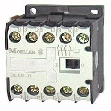 Εικόνα της DILEM-01 230V50Hz  Τριπολικά ρελέ ισχύος με 4KW και ονομαστικό ρεύμα 8,8Α με 1NC Moeller