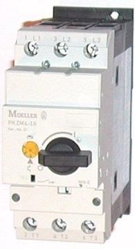 Εικόνα της PKZM4-16 Αυτόματοι θερμομαγνητικοί διακόπτες προστασίας κινητήρων με περιστροφικό διακόπτη 10-16Α Moeller