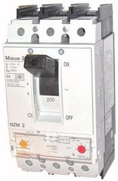 Εικόνα της NZMN2-A200  Αυτ. Διακόπτης Κλειστού Τύπου (MCCB) 200A, 3P, 50kA Moeller