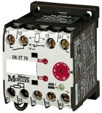 Εικόνα της DIL ET11-M-A  Ηλεκτρονικά χρονικά On delay(καθυστέρηση εντολής) Moeller