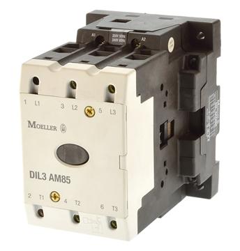 Εικόνα της DIL3AM85 Τριπολικά ρελέ ισχύος με 45KW με ονομαστικό ρεύμα 85,0Α με πηνίο 400V Moeller