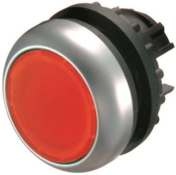Εικόνα της M22-DRL-R  Φωτιζόμενος ενεργοποιητής μπουτόν, RMQ-Titan, κόκκινο, κενό, στεφάνη: τιτάνιο Moeller