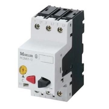 Εικόνα της PKZM01-10  Διακόπτης προστασίας κινητήρας 660V 690V / 7,5kW / Ir=6,3-10A / IP20 Moeller