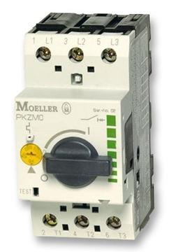 Εικόνα της PKZM0-10-T  Αυτόματοι θερμομαγνητικοί διακόπτες προστασίας μετασχηματιστών 3P Ir=6.3-10A Moeller