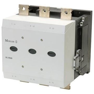Εικόνα της DILM580/22(RA250)  Tριπολικά ρελέ ισχύος με 315KW και ονομαστικό ρεύμα 580Α με 2NO & 2NC Moeller