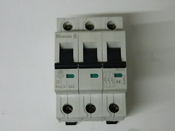 Εικόνα της Μικροαυτόματη Ασφάλεια C 40A 3P Moeller FAZ 3-C40