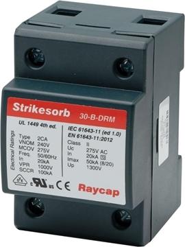 Εικόνα της Αντικεραυνικό T2 1P 50kA 240VDC Strikesorb 30-B DRM RAYCAP