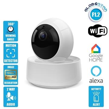 Εικόνα της SONOFF GK-200MP2-B  Έξυπνη Ρομποτική IP Camera SONOFF WiFi 1080P 340° Μοιρών SONOFF 48476