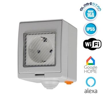 Εικόνα της SONOFF S55 Έξυπνη Εξωτερική Αδιάβροχη Πρίζα SONOFF IP55 WiFi SONOFF 48475
