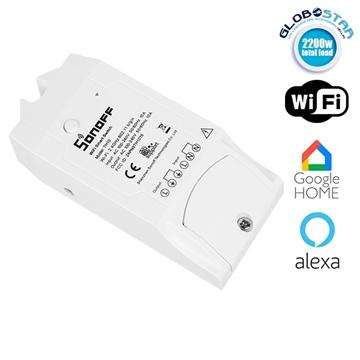 Εικόνα της SONOFF TH10 Ασύρματος Έξυπνος Διακόπτης Μετρητής Υγρασίας & Θερμοκρασίας WiFi 10 Ampere 48459