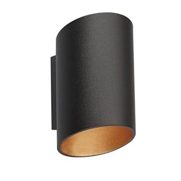 Εικόνα της Απλικα Αλ. Επιτ. Ip20 G9 Max 40W Μαυρο-Χρυσο Vk/03076Wa/Bgd VK Lighting 75169-224108