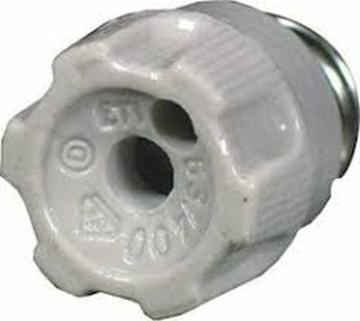 Εικόνα της Πώμα Ασφαλειών 80-100Α Diii R1 1/4 Πορσελάνης