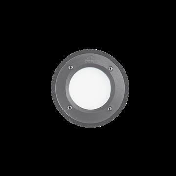 Εικόνα της Φωτιστικό Δαπέδου Χωνευτό LETI PT1 ROUND GRIGIO 096568 Ideal Lux