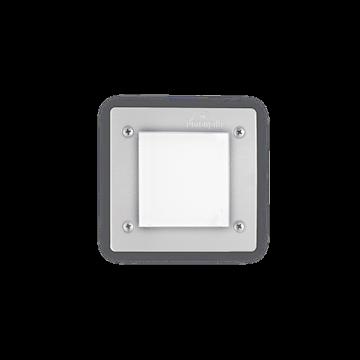 Εικόνα της Φωτιστικό Δαπέδου Χωνευτό LETI PT1 SQUARE BIANCO 096575 Ideal Lux
