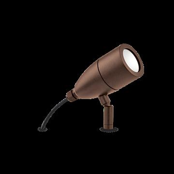 Εικόνα της Φωτιστικό Δαπέδου Χωνευτό INSIDE PT1 COFFEE 247045 Ideal Lux