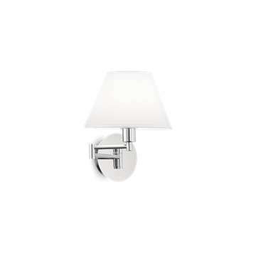 Εικόνα της Φωτιστικό Απλίκα BEVERLY AP1 CROMO 126784 Ideal Lux