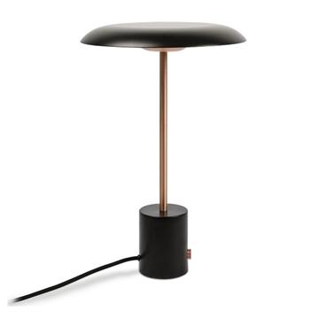 Εικόνα της Επιτραπέζιο Φωτιστικό Πορτατίφ LED 12W 3000K Black Copper Hoshi 28388 Faro Barcelona
