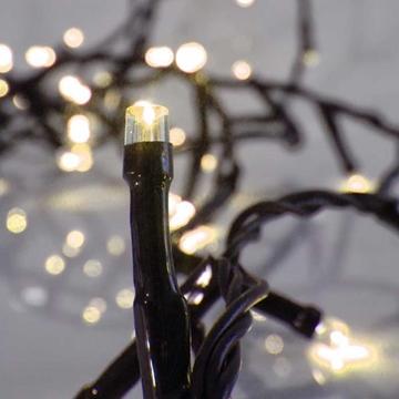 Εικόνα της Χριστουγεννιάτικα Λαμπάκια Εξωτερικού Χώρου 180L LED Με Πρόγραμμα, Πράσινο Καλώδιο-Θερμό-Λευκό Φώς 31 9m XLALED180-GWW/31V EPAM