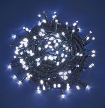 Εικόνα της Χριστουγεννιάτικα Λαμπάκια Εξωτερικού Χώρου 300L LED 18m 31V Με Πράσινο Καλώδιο, Λευκό Φώς XLALED300-GW/31V EPAM