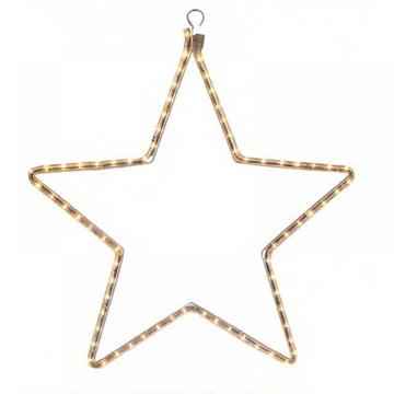 Εικόνα της Χριστουγεννιάτικο Αστέρι Φωτιζόμενο Λευκό 2m XLTUBECMF/2S Epam