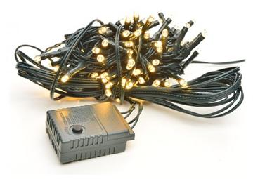 Εικόνα της Χριστουγεννιάτικα Λαμπάκια Εξωτερικού Χώρου 300L Με Πρόγραμμα,Πράσινο Καλώδιο,Θερμό-Λευκό Φώς LED 18m 31V XLALED300-GWW/31V Epam