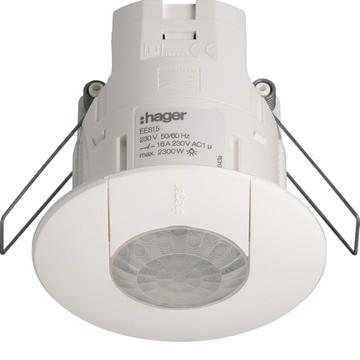 Εικόνα της Ανιχνευτής Παρουσίας Οροφής 1 Εξόδου Hager EE815