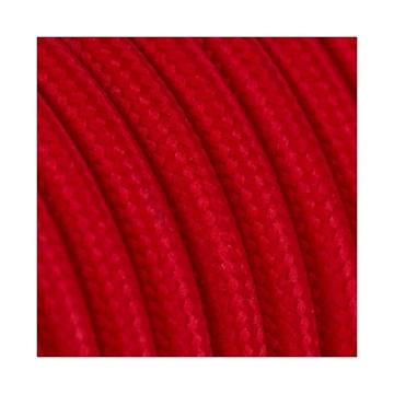 Εικόνα της Καλώδιο Υφασμάτινο 2Χ0.75mm² Κόκκινο Στρογγυλό