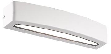 Εικόνα της Απλίκα Εξωτερικού Χώρου LED Λευκή 12W 371Lm 3000K IP54 Rio Viokef 4223300