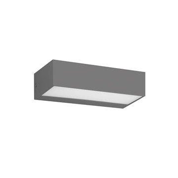 Εικόνα της Φωτιστικό Απλίκα LED IP65 8W 4000K Ανθρακί 75169-336692 VK Lighting