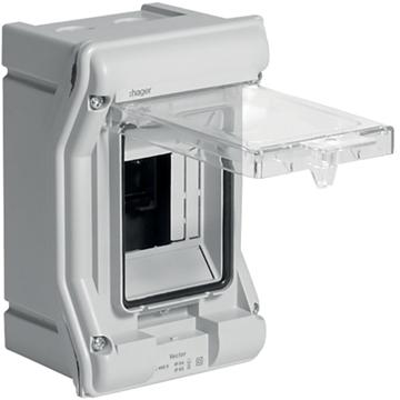 Εικόνα της Vector Πίνακας Ip65 1X3M Hager VE103N