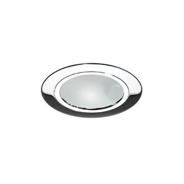 Εικόνα της Σποτ Κουζινας Ισιο Νικελ Με Γυαλι FosMe 05-0015-7