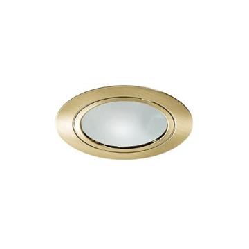 Εικόνα της Σποτ Κουζινας Ισιο Χρυσο Ματ Με Γυαλι FosMe 05-0015-9