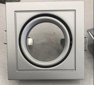 Εικόνα της Spot Αλουμίνιου Κινητό Τετράγωνο 12V Φ68 Αλουμίνιο