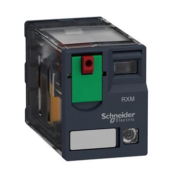 Εικόνα της Zelio RXM τύπου μινιατούρα 4 επαφών 230V 6A τύπου AC με LED