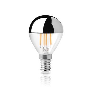 Εικόνα της Λαμπτήρας LED Filament Dim Αντ/νου Καθρέπτου G45 E14 6W 2800K 520Lm