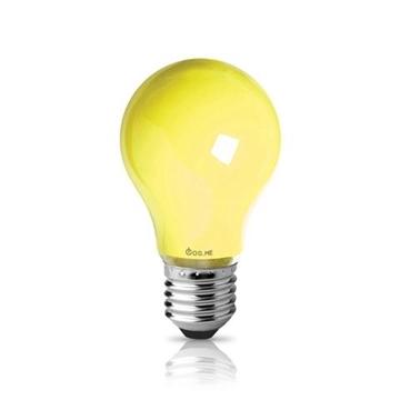 Εικόνα της Λαμπα Ε27 60W Κιτρινη Για Εντομα