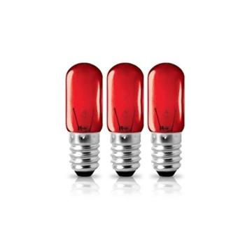 Εικόνα της Λαμπα (3Τεμ) E14/220V 3W Νυκτος Κοκκινο Blister