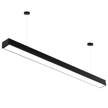 Εικόνα της Φωτιστικό Γραμμικό-Αρχιτεκτονικό LED SALERNO Μαύρο 36W 3000K Atman LEG-0003